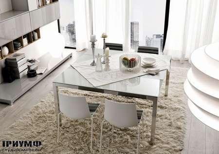 Итальянские кухни Copat  - стол и стулья slimxl