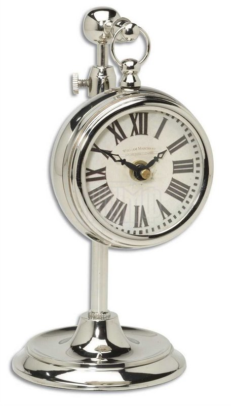 Американская мебель Uttermost - Часы карманные на телескопической ножке Marchant Cream 06070