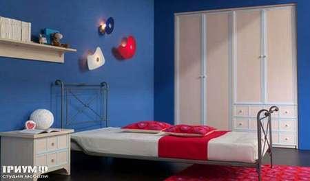 Итальянская мебель Julia - Шкаф, кровать, модель deco