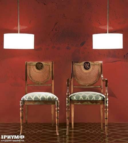 Итальянская мебель Cornelio Cappellini - Стулья с инкрустацией, резные