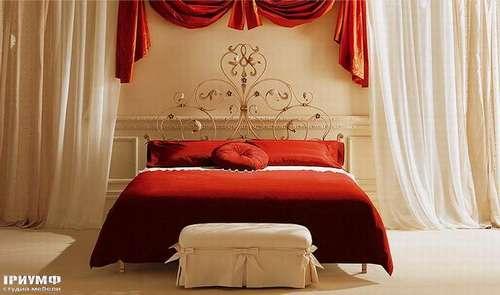 Итальянская мебель Giusti Portos - Спальня без изножия Rondo