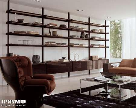 Итальянская мебель Longhi - Шкаф книжный Vertical
