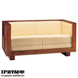 Итальянская мебель Morelato - Диван в деревянном каркасе