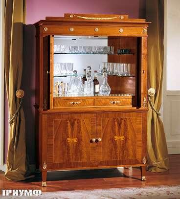 Итальянская мебель Colombo Mobili - Бар в имперском стиле арт.300 кол. Cimarosa