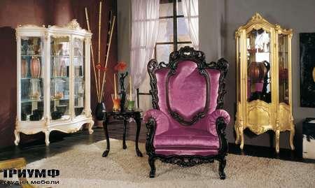 Итальянская мебель Modenese Gastone - кресло Rococo