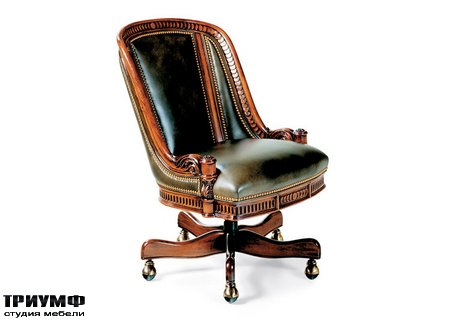 Американская мебель Hancock & Moore - Appointment Swivel Tilt Chair