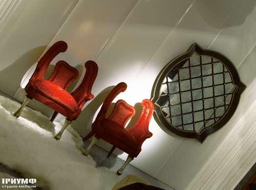 Итальянская мебель Cornelio Cappellini - Стулья велюр, золото