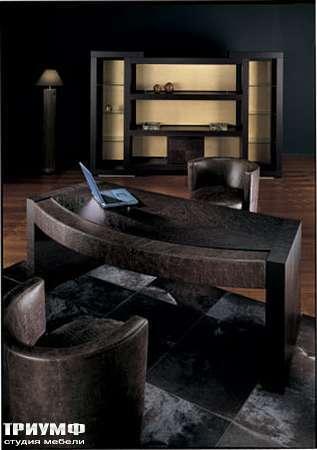 Итальянская мебель Smania - Стол закругленный Superchic