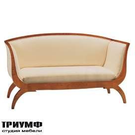 Итальянская мебель Morelato - Диван с изогнутой спинкой