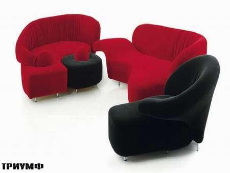 Итальянская мебель Edra - диван Angels