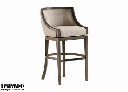 Американская мебель Jessica Charles - Baden Memory Swivel Bar Stool