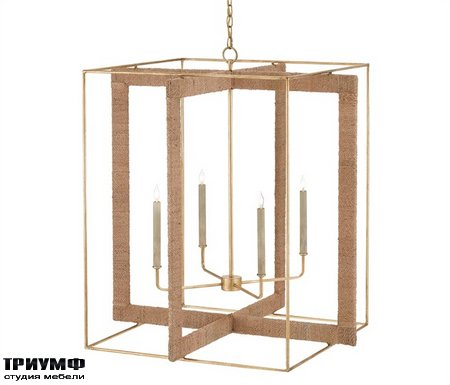 Американская мебель Currey and Company - Purebred Chandelier