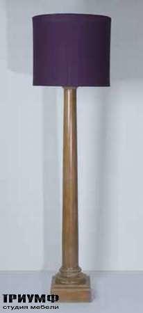 Итальянская мебель Chelini - Торшер ар деко с абажуром