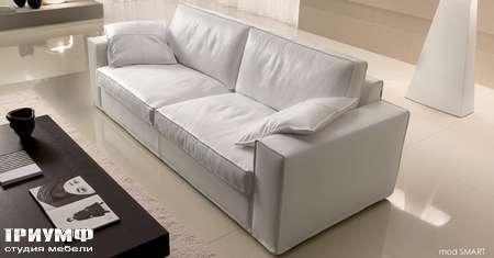 Итальянская мебель CTS Salotti - Диван двухместный модерн, модель Smart