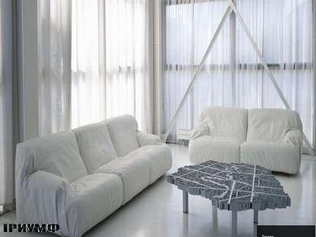 Итальянская мебель Edra - диван Brenno
