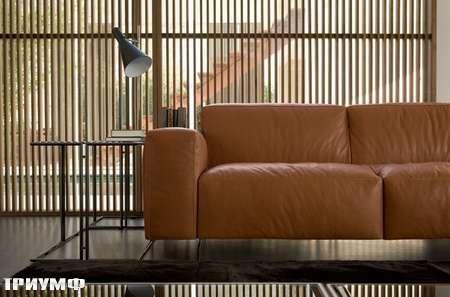 Итальянская мебель Rivolta - диван Cut в коже