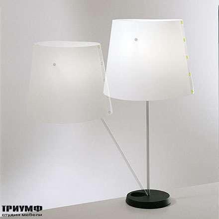 Итальянская мебель Driade - Лампа настольная Twist&light