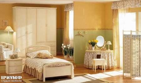 Итальянская мебель Julia - Спальня для девочки, модель florence