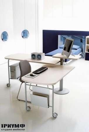 Итальянская мебель Di Liddo & Perego - Стол письменный-компьютерный E-Station