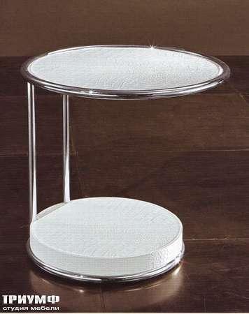 Итальянская мебель Rugiano - Столик прикроватный или журнальный Oblo