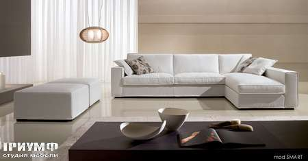 Итальянская мебель CTS Salotti - Диван угловой Smart