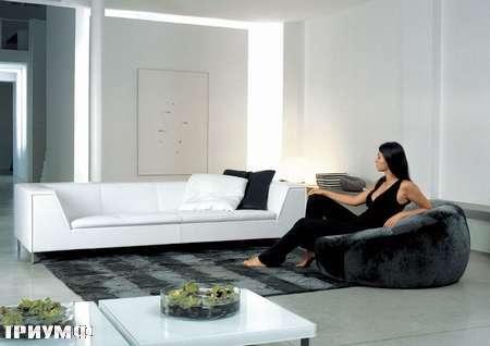 Итальянская мебель Rivolta - диван Fidelio в коже