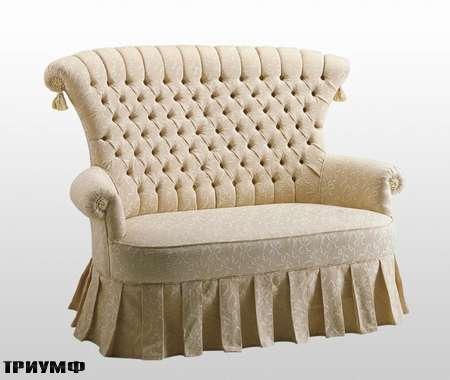 Итальянская мебель Volpi - диван простеганный Diletta