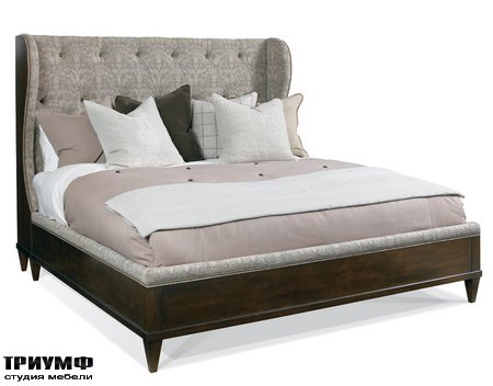 Американская мебель Hickory White - Whitman Wing Bed