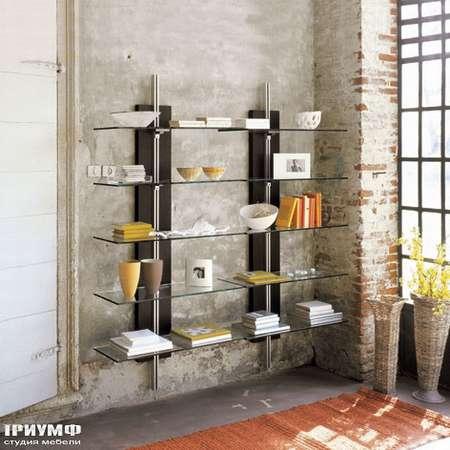 Итальянская мебель Cattelan Italia - Книжный шкаф Chicago