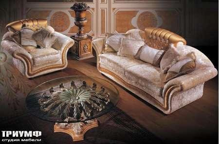 Итальянская мебель Ezio Bellotti - Диван 3-х местный, коллекция 950