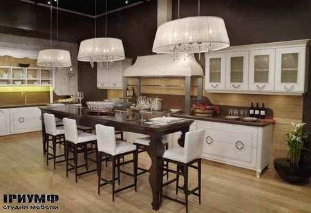 Итальянская мебель Grande Arredo - Кухня Etra, крашенная