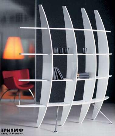 Итальянская мебель Cattelan Italia - Книжный шкаф Meridiani