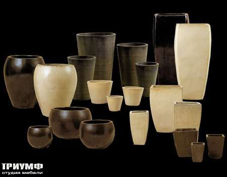 Итальянская мебель Cantori - вазы Vasi interno esterno