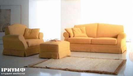 Итальянская мебель CTS Salotti - Диван классический и кресло, модель Victoria
