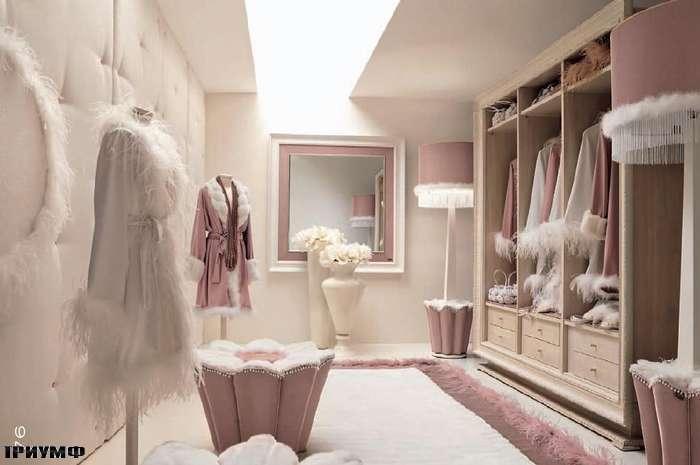 Итальянская мебель Altamoda - Шкаф открытый резной