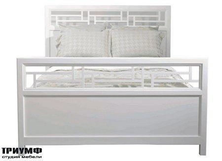 Американская мебель Kindel - Varney Lattice Bed