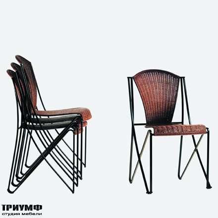 Итальянская мебель Driade - Стул Abanica