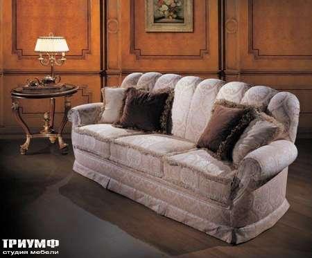 Итальянская мебель Ezio Bellotti - Диван 3-х местный в ткани