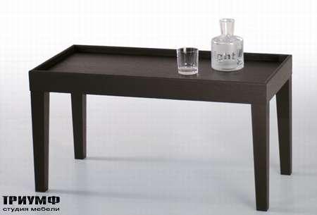 Итальянская мебель Orizzonti - столик-банкетка Ebridi