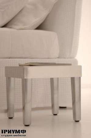 Итальянская мебель Orizzonti - ночной стлик White