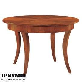 Итальянская мебель Morelato - Стол круглый на вогнутых ногах