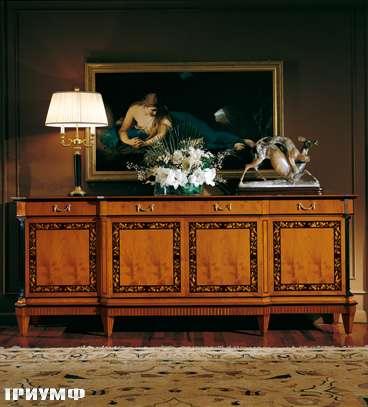 Итальянская мебель Colombo Mobili - Буфет в стиле Бидермайер арт.152 кол. Rossini