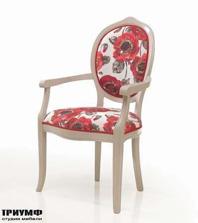 Итальянская мебель Seven Sedie - Стул с подлокотниками Debora