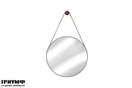 Американская мебель Cisco Brothers - Wine Barrel Hanging Mirror
