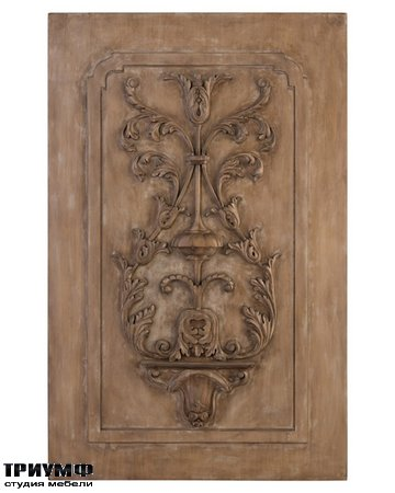 Американская мебель John Richard - Acacia and Celtis Carved Panel