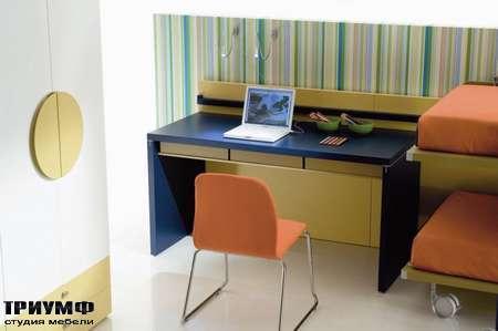 Итальянская мебель Di Liddo & Perego - Стол письменный E-Volution с ящиками