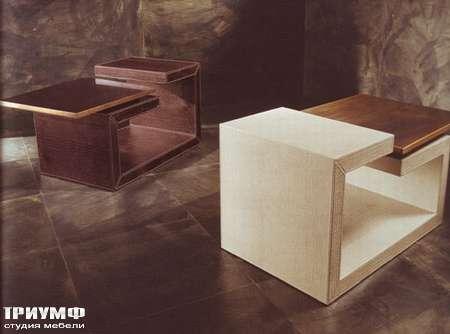 Итальянская мебель Rugiano - Стол журнальный маленький Twins