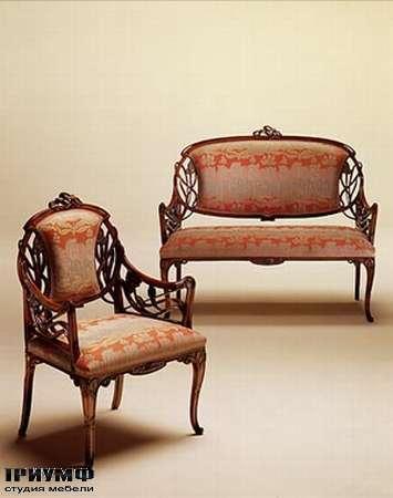Итальянская мебель Medea - Диван  и кресло, классическая линия