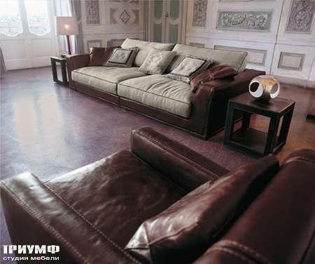 Итальянская мебель Love Luxe (Longhi) - Диван двухместный глубокий Alfred