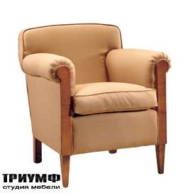 Итальянская мебель Morelato - Кресло в ткани на ножках